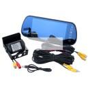 Auto Bluetooth tahavaate peegel+monitor+kaamera